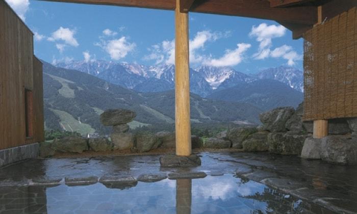 白馬岩岳マウンテンリゾート  周辺温泉 みみずくの湯