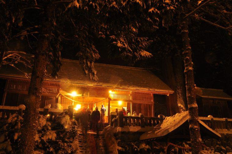 冬の夜祭り – Old Town Cultural Festival - 切久保 諏訪神社