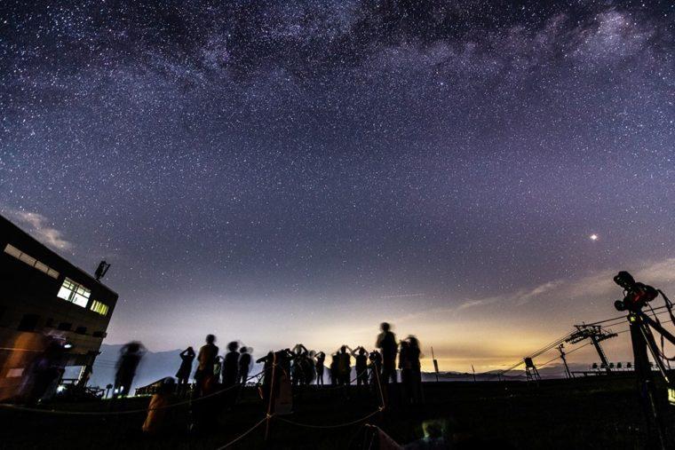 流星群観察会