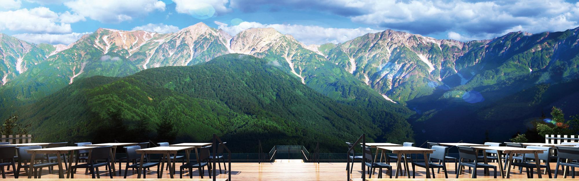 白馬岩岳マウンテンリゾート グリーンシーズン