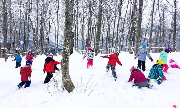 雪遊びエリア「Wood Park」(入場無料)