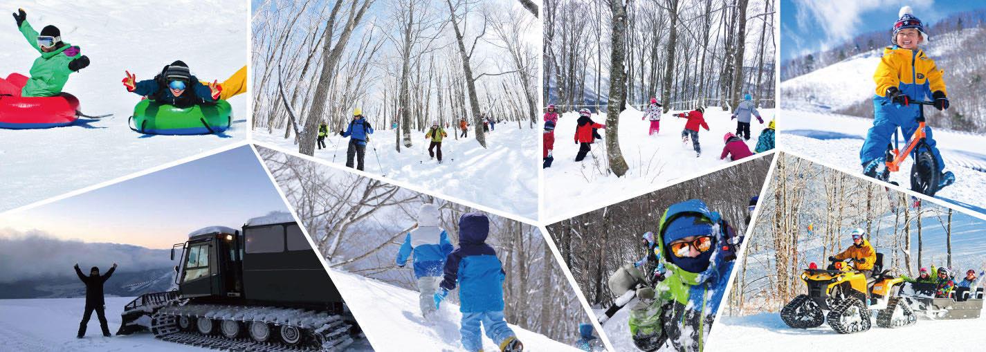白馬岩岳マウンテンリゾート 雪遊び・観光