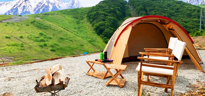 ~大自然の中の絶景キャンプ場~ 白馬岩岳マウンテンフィールド