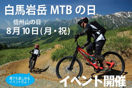 白馬岩岳MTBの日